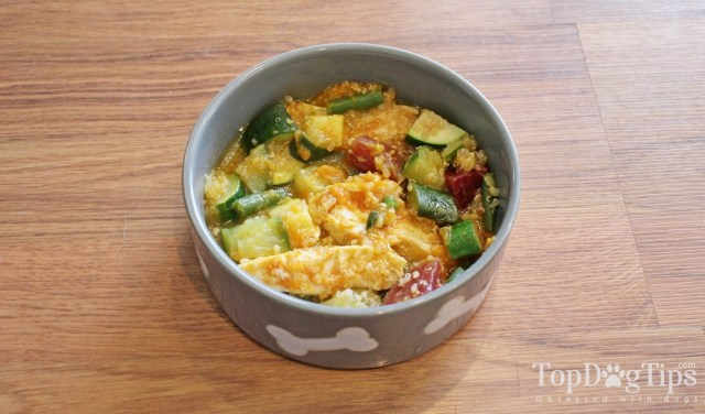 Healthiest Homemade Dog Food with Chicken