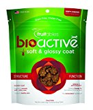 Fruitables BioActive Soft & Glossy Coat Functional Chewy Treats