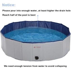 PUPTECK Foldable Dog Swimming Pool
