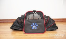 Pet Peppy Airline Approved Expandable Pet Carrier