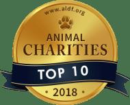 Top 10 Animal Charities - Animal Legal Defense Fund