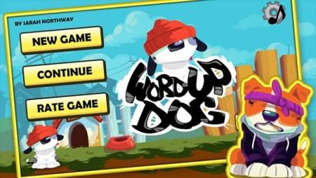 Word Up Dog Free Dog Game Online