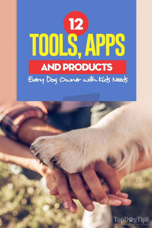The 12 Tools, Apps and Products Every Dog Owner with Kids Needs