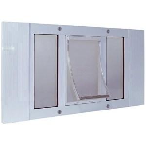 Ideal Pet Products Aluminum Sash Window Pet Door