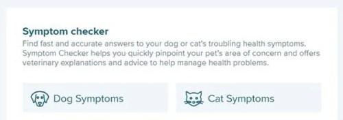 Pet CoachSymptom Checker