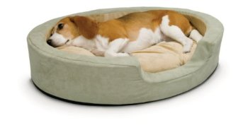 A heated dog bed from K&H Pet Products.