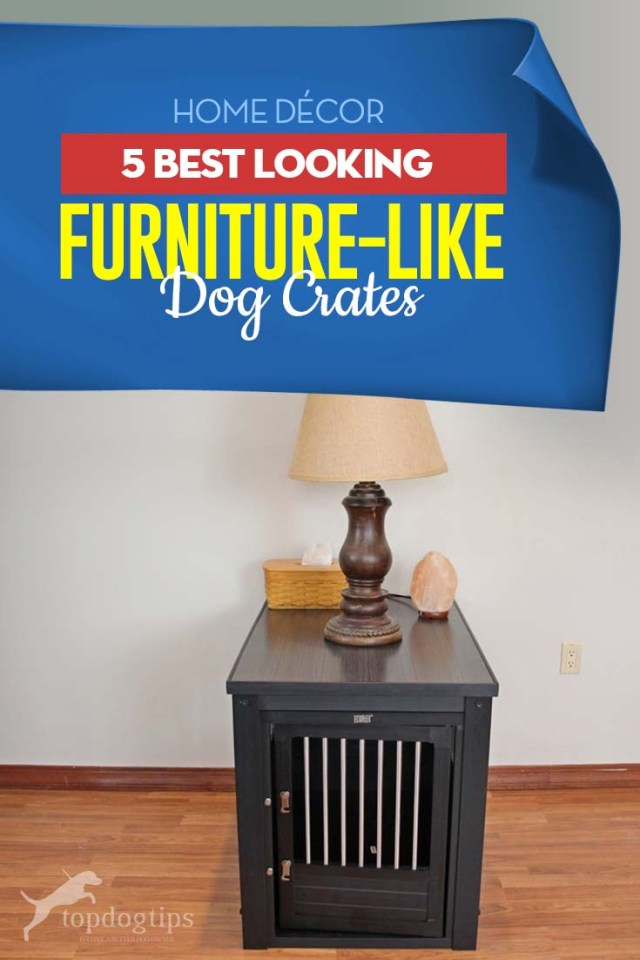 Top 5 Best Dog Crate Furniture Choices