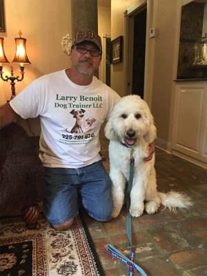 Larry Benoit dog trainer