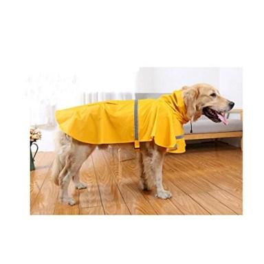 Hotumn Large Dog Raincoat