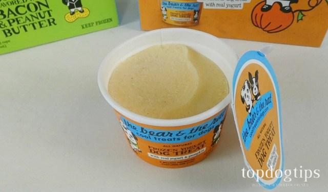 frozen yogurt dog treat review