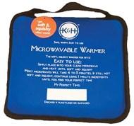 Example: microwavable heating pad.