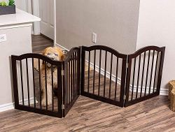 Pet Gate for Stairs, with Arched Top by Internet's Best