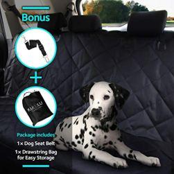 Premium Pet Seat Cover, Hammock Style by Kululu