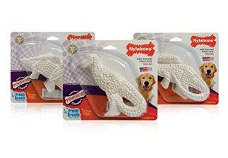 3-Pack Nylabone Durable Dental Dinosaur