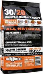 High Performance Super Premium Dog Food by Bully Max