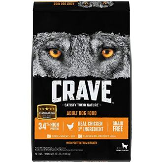 Crave Adult Dry Dog Food by CRAVE