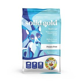 Wolf Cub Bison & Oatmeal Puppy by Solid Gold