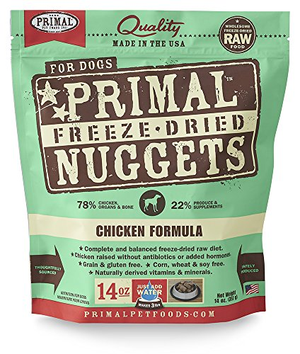 Primal Freeze Dried Dehydrated Food