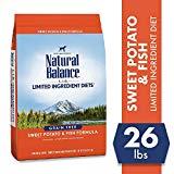 Natural Balance Limited Ingredient Fish and Sweet Potato