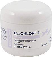 TrizCHLOR 4 Antibacterial Dog Wipes by Dechra