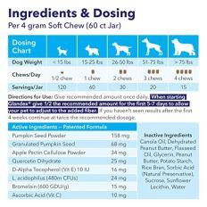 Glandex Anal Gland Fiber, Probiotic Supplement by Glandex