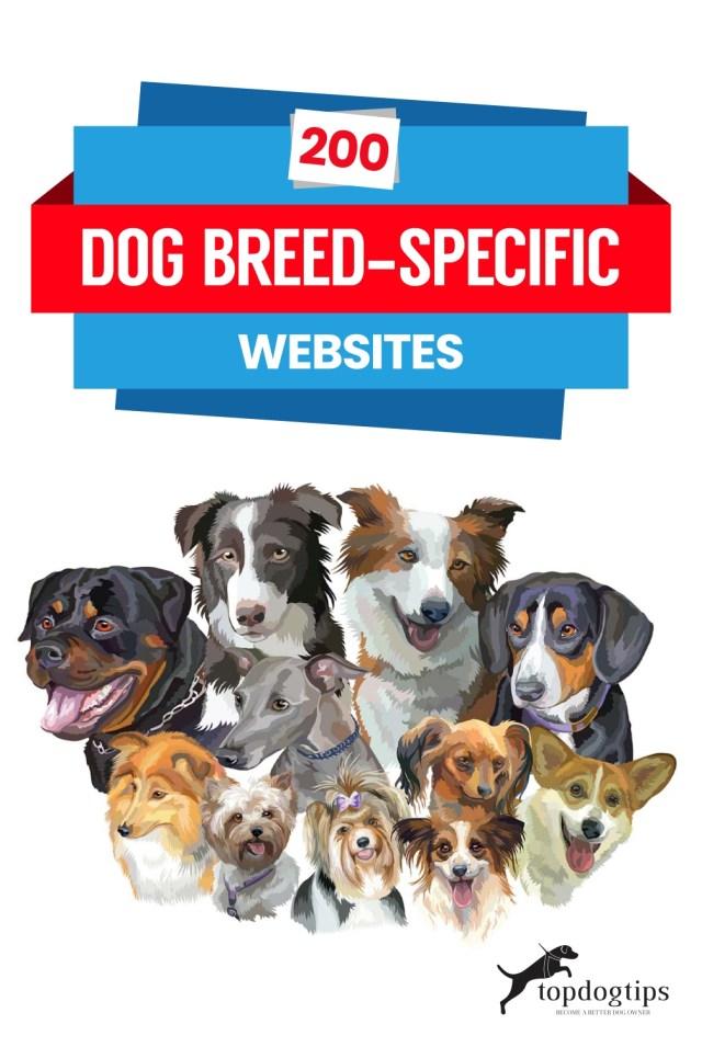 200 Dog Breed-Specific Websites