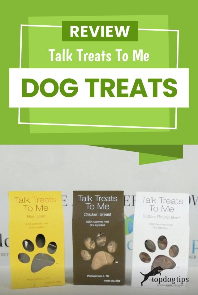 Review- Talk Treats To Me Dog Treats