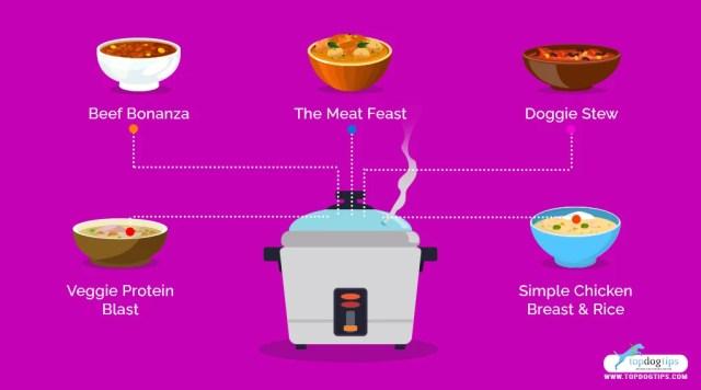 5 Homemade Crockpot Dog Food Recipes 5 Recipes