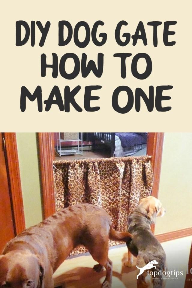 DIY Dog Gate- How To Make One