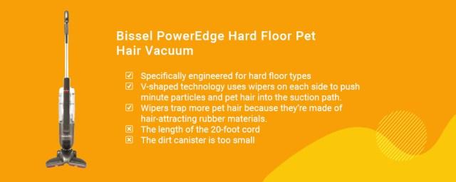 Bissel PowerEdge Hard Floor Pet Hair Vacuum best vacuum for dog hair