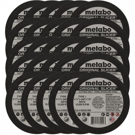 metabo slicer cut off wheel