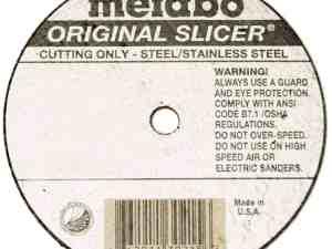 "Metabo Slicer Cut Off Wheel 6"" X .040"" Box 50 - 55339"
