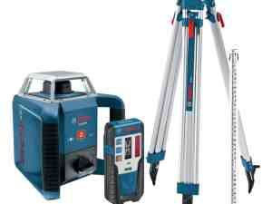 Bosch GRL400HCK - Rotary Laser Complete Kit