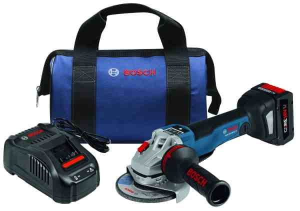 18V EC Brushless Connected 4-1/2 In. Angle Grinder Kit with No Lock-On Paddle Switch