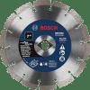 Bosch DB765SD 7 In. Standard Segmented Rim Diamond Blade with DKO for Soft Materials