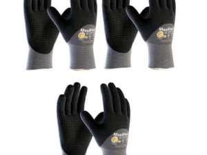 MaxiFlex 34-845 Gloves with Nitrile Micro-Foam Grip (34-845/L)