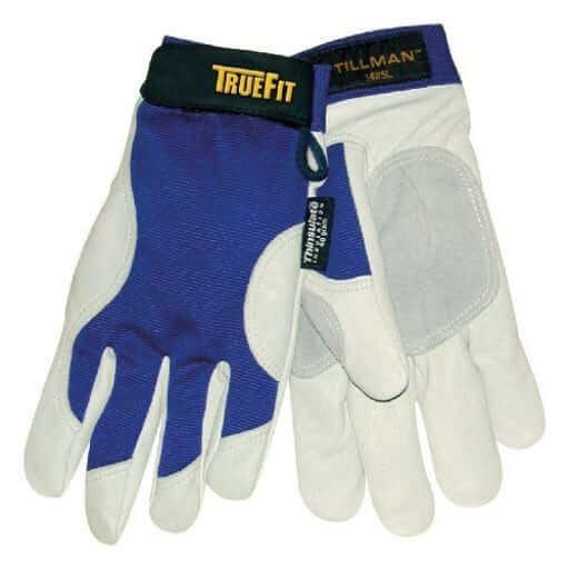 John Tillman 14852XL XX-Large Blue/Gray True Fit Top Grain Pigskin/Nylon Thinsulate Lined Cold Weather Gloves