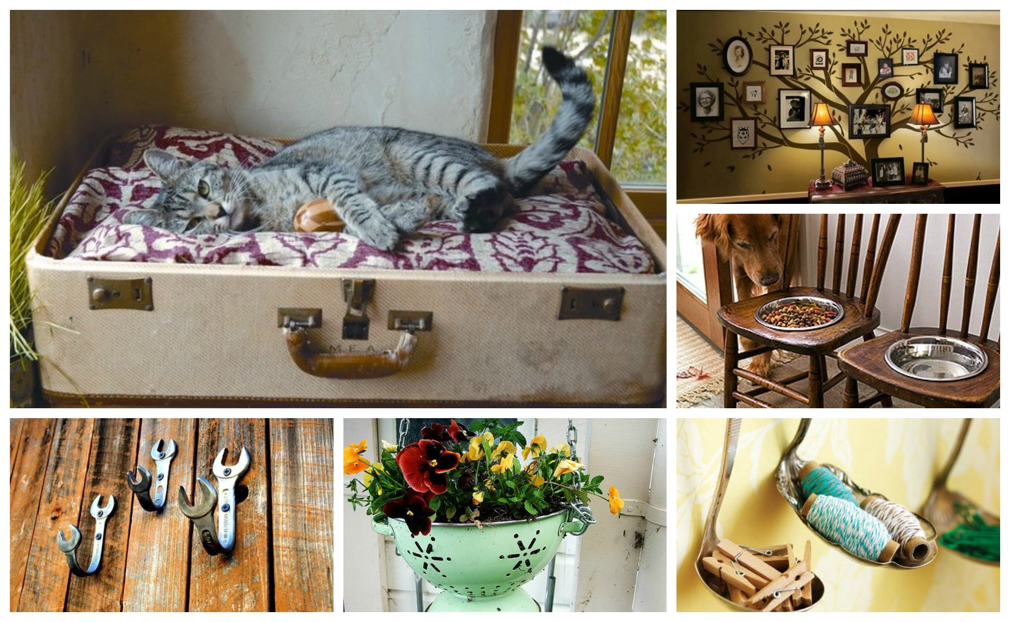 25 Interesting DIY Ideas To Reuse An Old Things