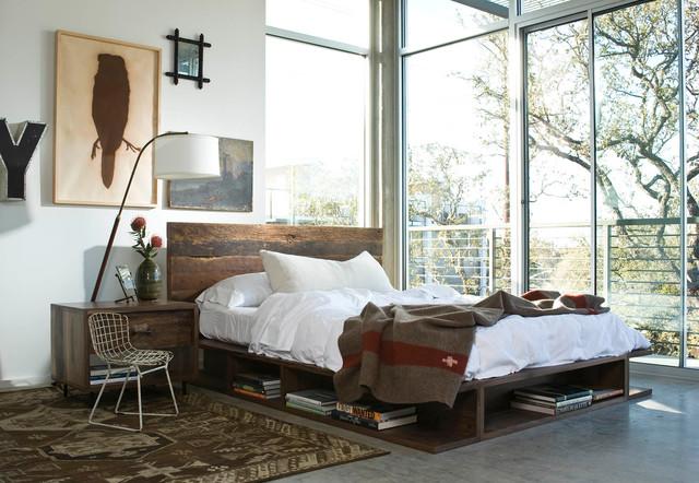 17 Cozy Industrial Bedroom Designs