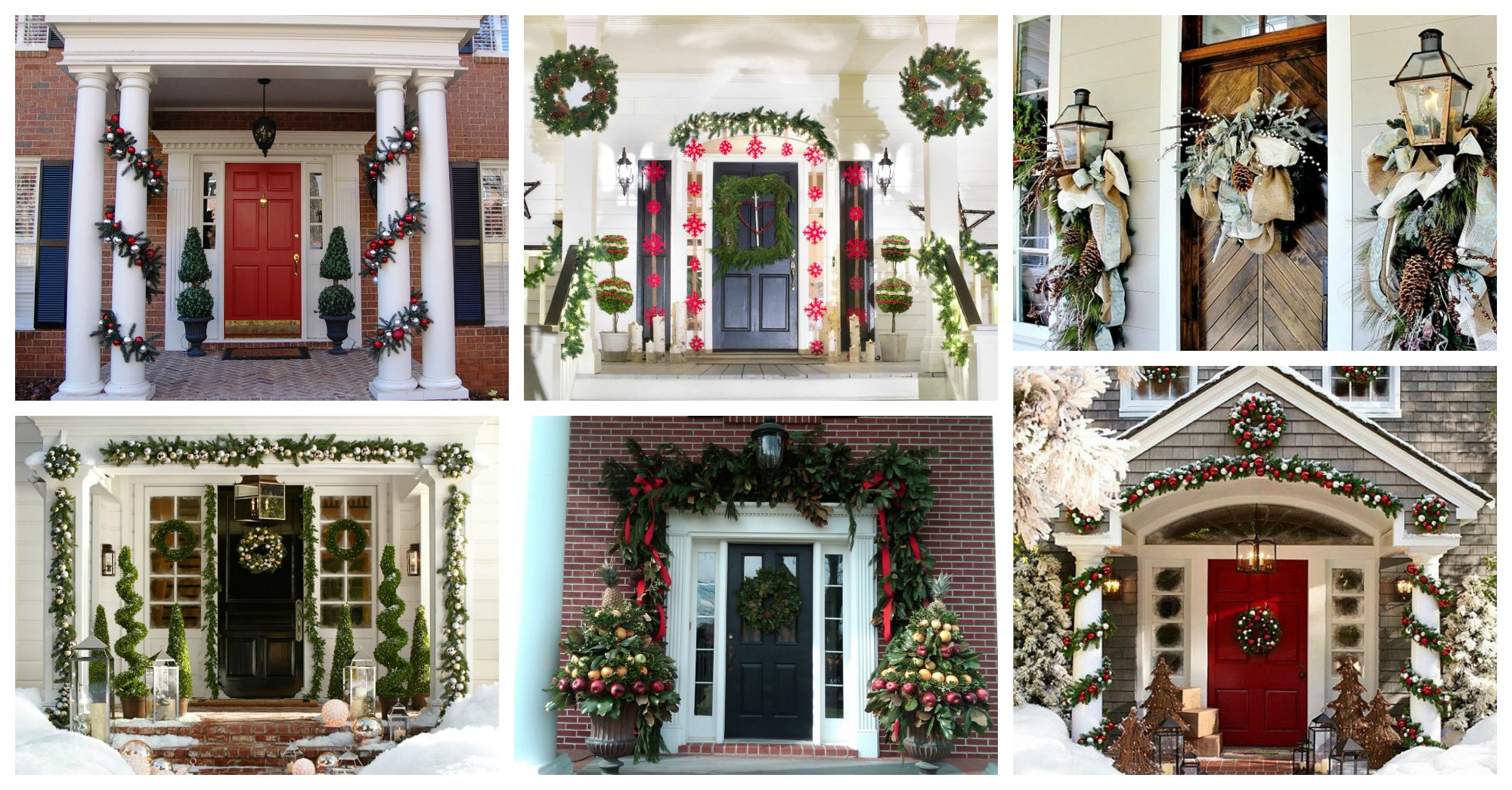 Magical Christmas Front Porch Decorations You Need To See