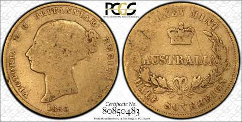 PCGS Half Sovereigns