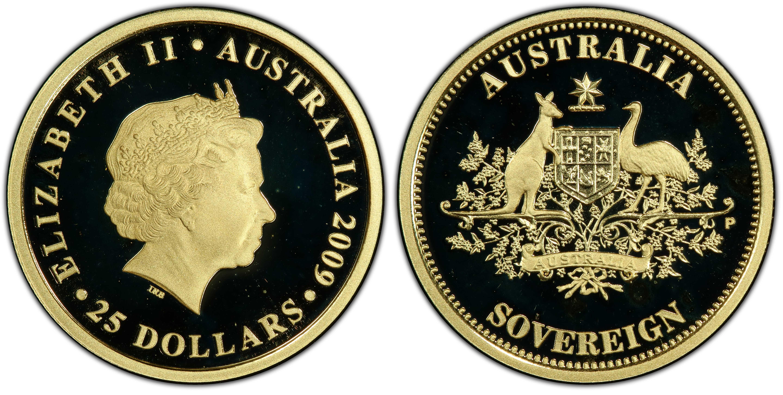 Australia 2009 Perth Mint Sovereign PCSG PR68