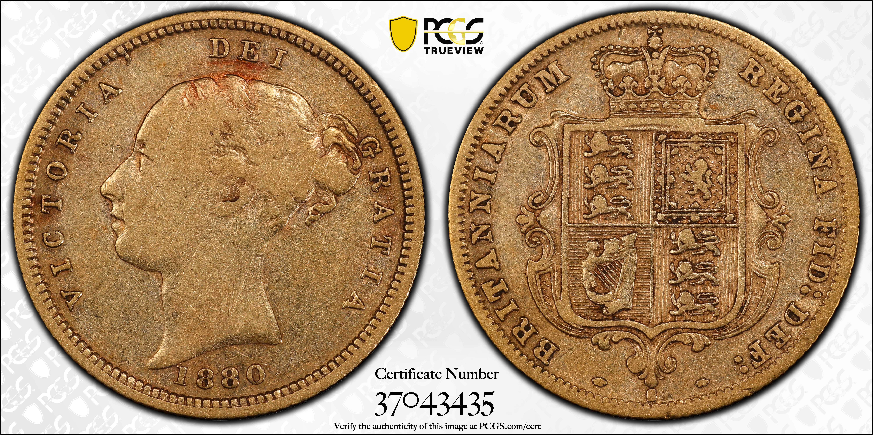 Australia 1880 Sydney Half Sovereign PCGS VF25