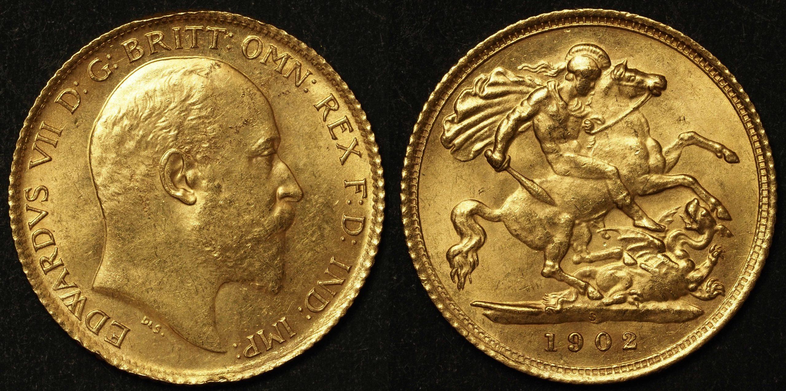 Australia 1902 Sydney Half Sovereign UNC Details