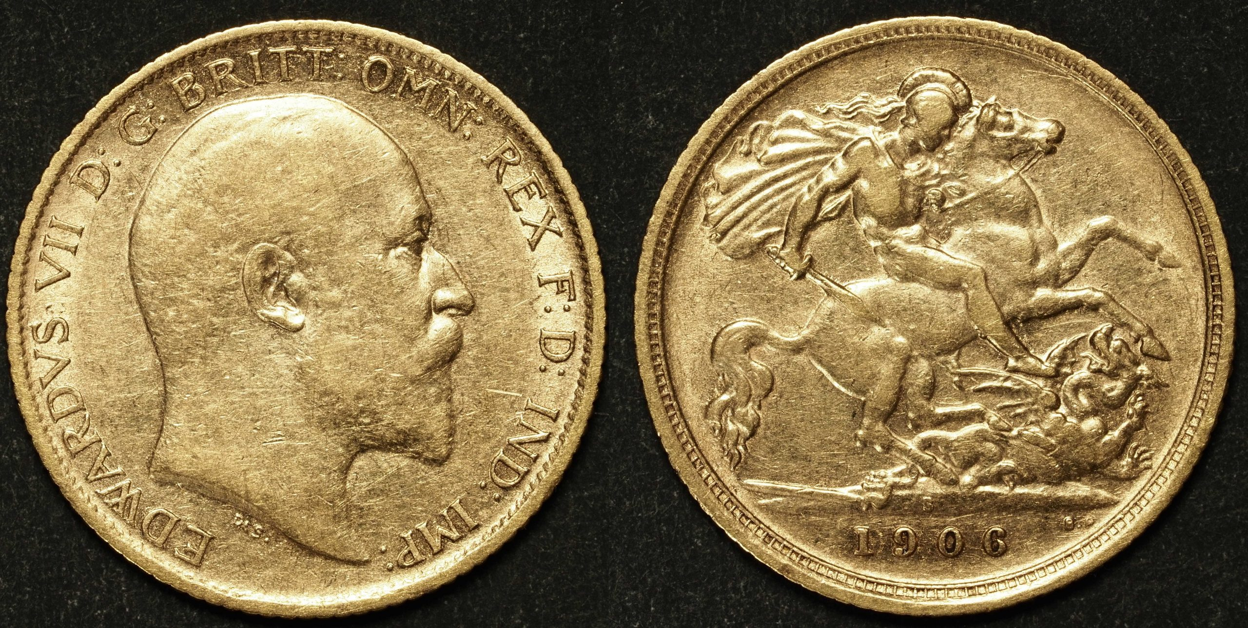 Australia 1906 Sydney Half Sovereign VF