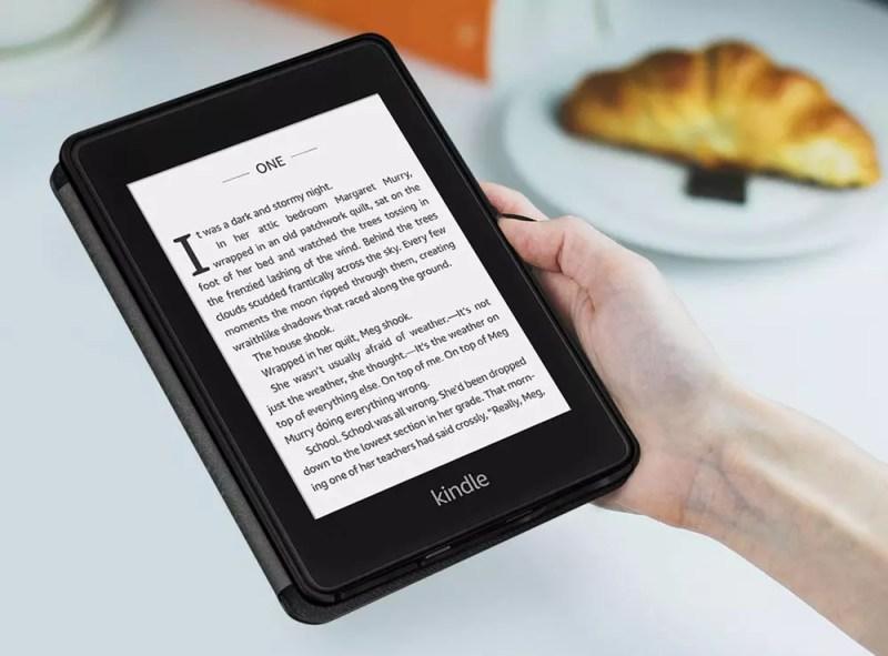 Utilizzo di una custodia con Kindle Paperwhite
