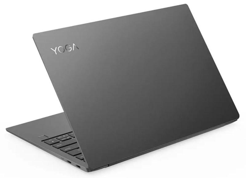 Parte posteriore del laptop Lenovo Yoga S730