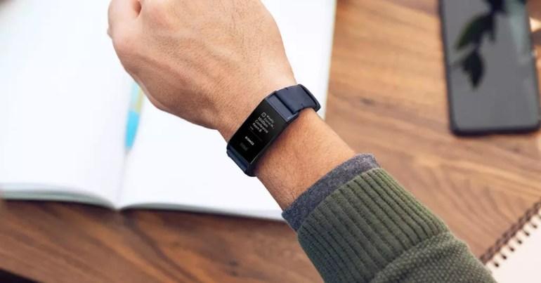 Uso de la smartband Fitbit Charge 3