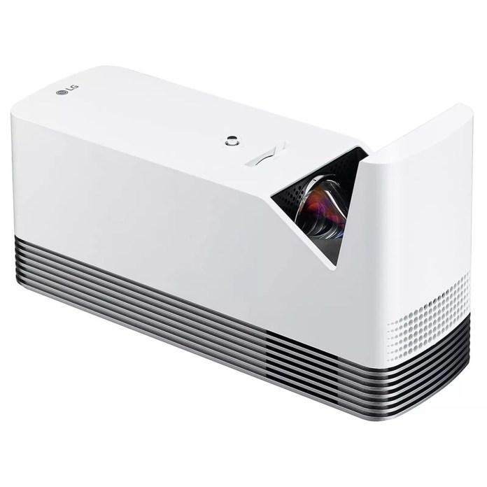 LG HF85LSR projector ahead