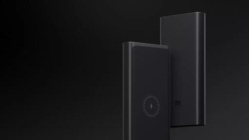 Design del powerbank Xiaomi Wireless Power Bank